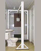 ceiling lift, overhead rail system, freestanding rail system, Houston, home elevator