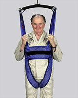 home care, patient sling, ceiling lift, floor lift, walking sling, Houston